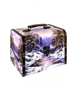 Новогодние сундучки и чемоданчики VIP с конфетами оптом