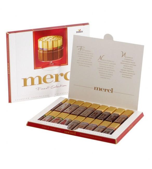 """Шоколадные конфеты """"Merci"""" Ассорти, 675 г."""