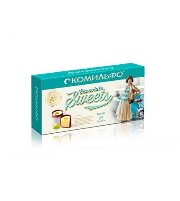 """Конфеты шоколадные """"Комильфо"""" фисташка, 116г"""