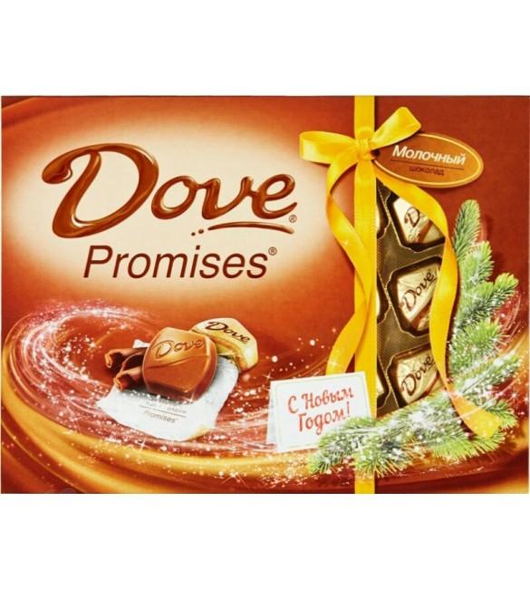 "Конфеты Dove Promises ""Молочный шоколад"", 120 г"