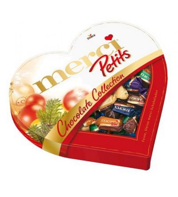 """Шоколадные конфеты """"Merci"""" Сердце, 250 г."""