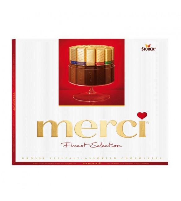 """Шоколадные конфеты """"Merci"""" Ассорти, 250 г."""