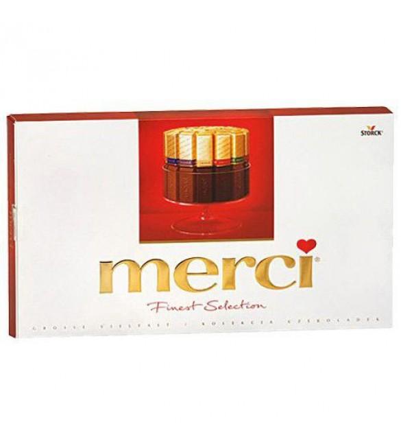 """Шоколадные конфеты """"Merci"""" ассорти, 400 г"""