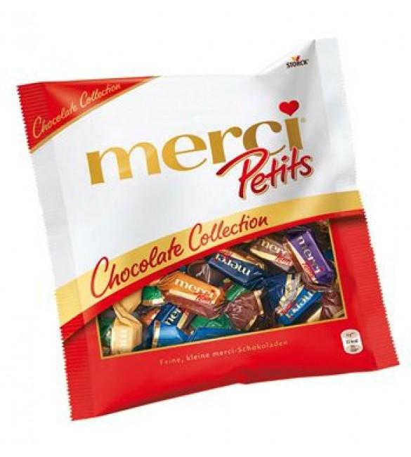 """Шоколадные конфеты """"Merci"""" Коллекция, 125 г."""