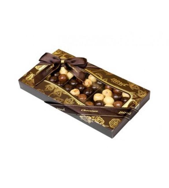 Шоколадное драже-ассорти с марципаном
