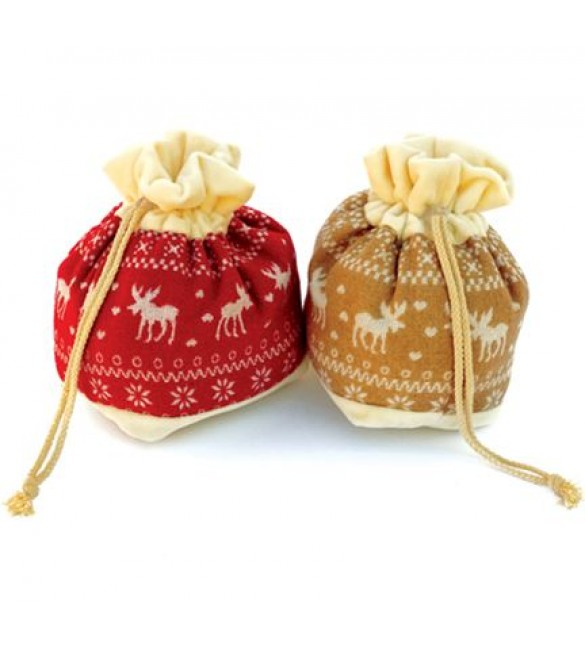 Вязаные мешочки для новогодних подарков