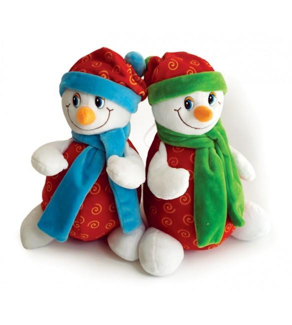 Снеговик №1 (конфетница)