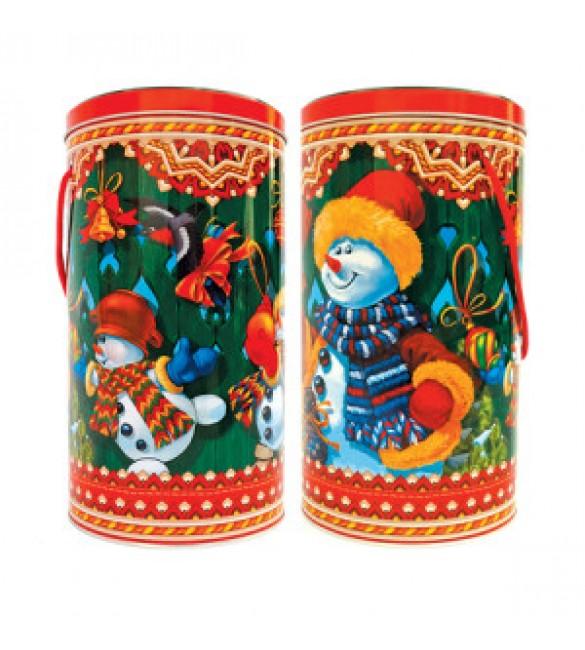 """Туба """"Снеговики"""" 1000 гр"""
